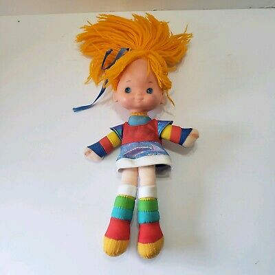 Rainbow Brite Doll 1983 Hallmark Plush Doll Vinyl Head 11