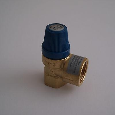 """Membran Sicherheitsventil Überdruckventil Wasser 1/2"""" x 3/4"""" 6 bar gebraucht kaufen  Ammern"""