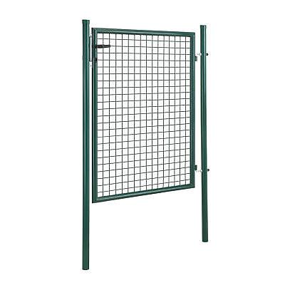 [pro.tec]® Porta di giardino 175x106 verde porta rete recinzione portone
