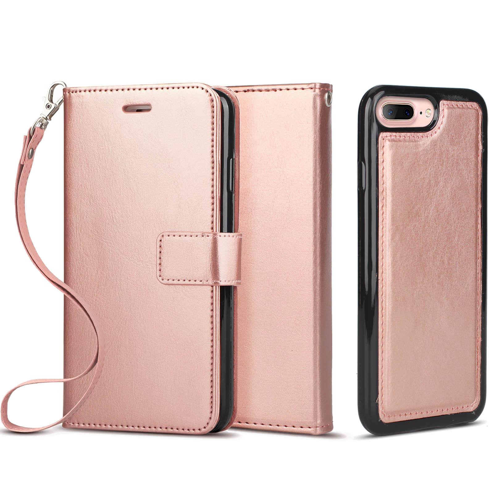 Luxury Leather Book Purse Women Handbag Wallet Case Cover Ba