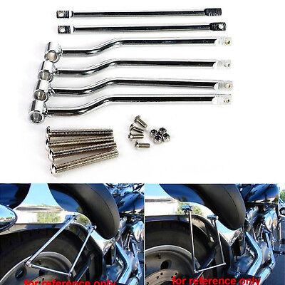 Universal Motorcycle Motorbike Refit Saddlebag Saddle Bag Support Bar Bracket UK