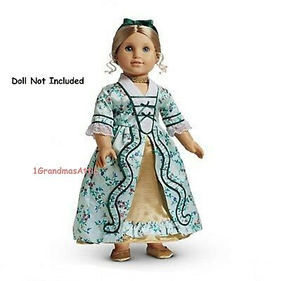 AMERICAN GIRL ELIZABETH'S HOLIDAY GOWN NIB CHRISTMAS Retired Doll Not Included