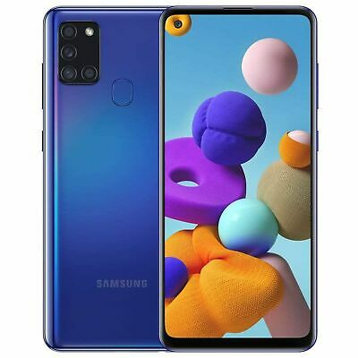 Samsung Galaxy A21s A217M 64GB Dual SIM GSM Unlocked Android Smart Phone - Blue