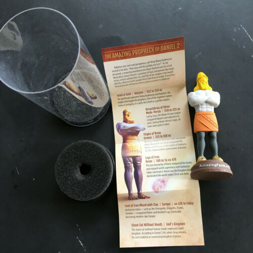 Kingdoms in Time USB Stick Amazing Facts Prophecy of Daniel 2 Rare