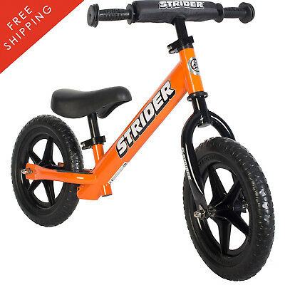 NIB- Strider 12-in. Sport Balance Bike, Ages 18 Months to 5 Years - Orange