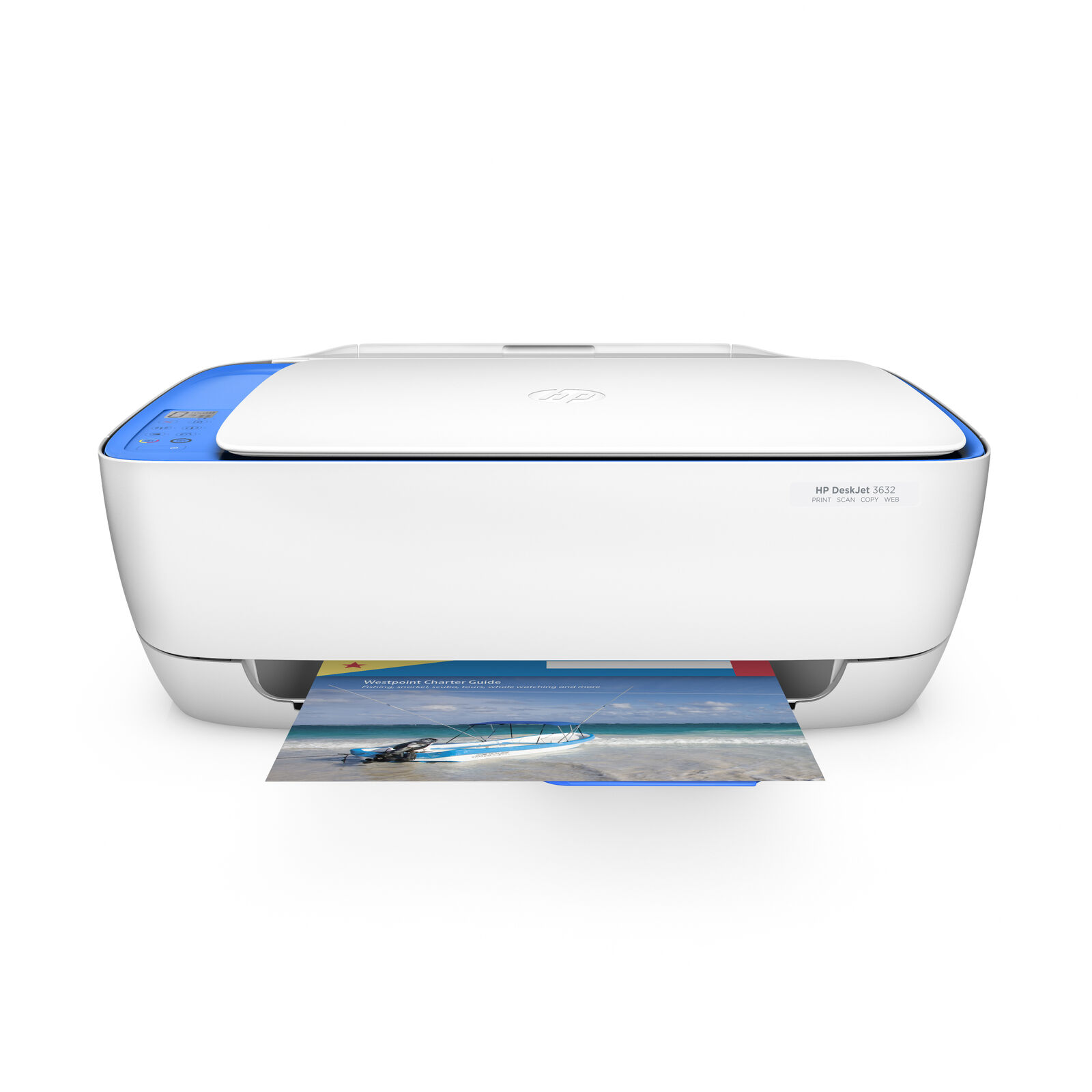 HP DeskJet 3632 Wireless All-in-One Compact Printer, INK INC