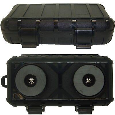 Large Magnetic Hidden Safe Stash Secret Storage Box Container for Car Van Truck