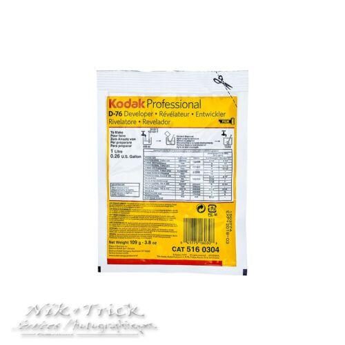 Kodak Professional D76 Powder Developer ~ 1 Litre Pack