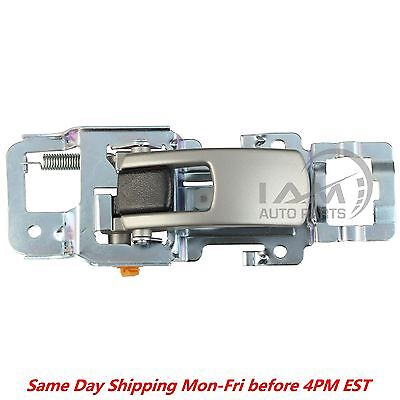 Left Driver Side Silver Inside Door Handle Front or Rear for 2005 2009 Equinox