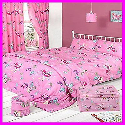 Girls Fairies Bedroom Collection Duvet Sets Lamp Shade Pop up Bin Bedspred