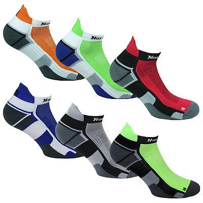 Norfolk Running Microfiber Cushioned Low Cut w/ Back Tab Men's Sock (Cushion Low Sock)
