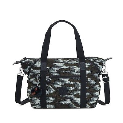 Kipling Large Shoulder Bag ART Travel Tote  DYNAMIC DOTS Print SS19 RRP £87