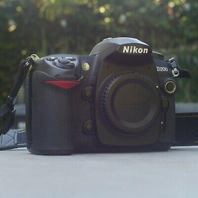 Nikon D200 10.2MP Digital SLR Camera - Black segunda mano  Embacar hacia Mexico
