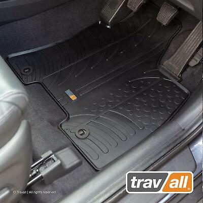 TRAVALL RUBBER CAR FLOOR MATS for HYUNDAI TUCSON 2015 on