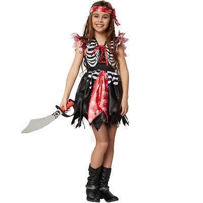 Mädchenkostüm Piratenprinzessin Piratin Seeräuberin Kinder Karneval Fasching - Kinder Piraten