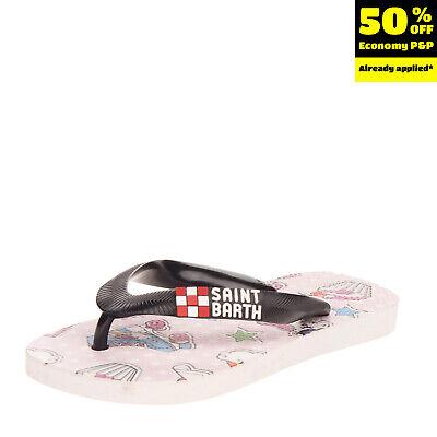 MC2 SAINT BARTH Flip-Flop Sandals EU 30-31 UK 12.5 US 13.5 Logo Made in Italy