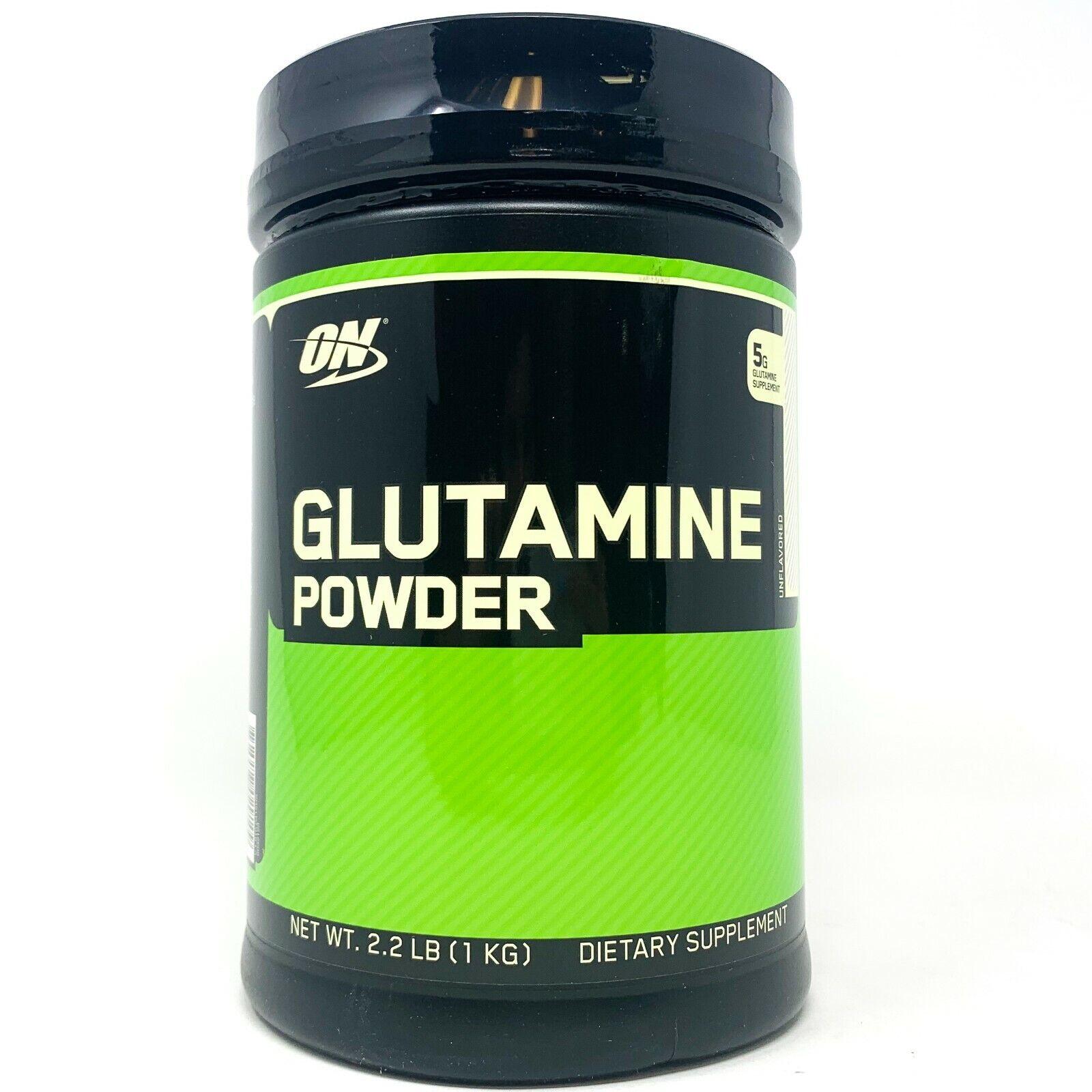 Optimum Nutrition Glutamine Powder -- 2.46 lbs