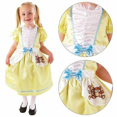Child Goldilocks Fancy Dress Costume Fairytale Book Week Kids Girls Female - Goldilocks Costume Teen