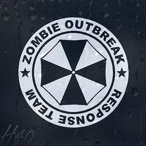 Zombie-Umbrella-Outbreak-Response-Team-Car-Decal-Vinyl-Sticker