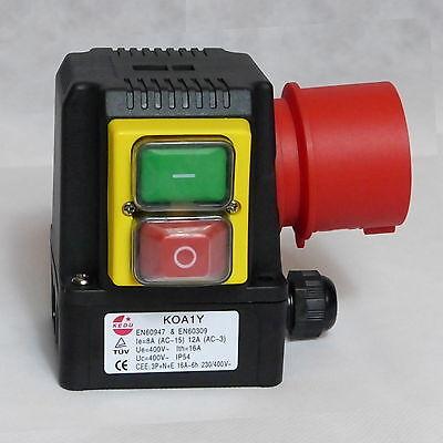 KEDU Motorstarter KOA1Y, 3~ bis 4kW, Thermoschalter Anschluss, für Kreissäge Neu