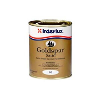 Interlux 60 Goldspar Satin Marine Varnish Quart