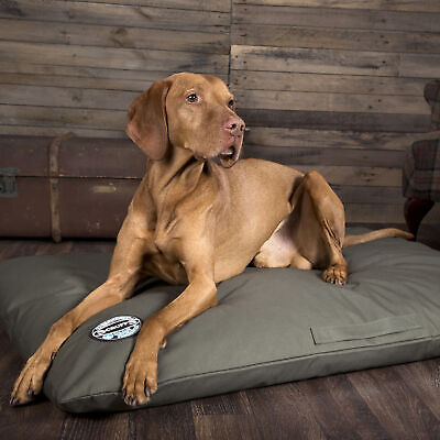 Scruffs Expedition Memory Foam Pillow Dog/Pet Bed (XL) - Olive