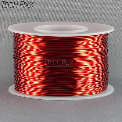 Magnet Wire 26 Gauge Awg Enameled Copper 630 Feet Coil Winding Crafts 155c Red