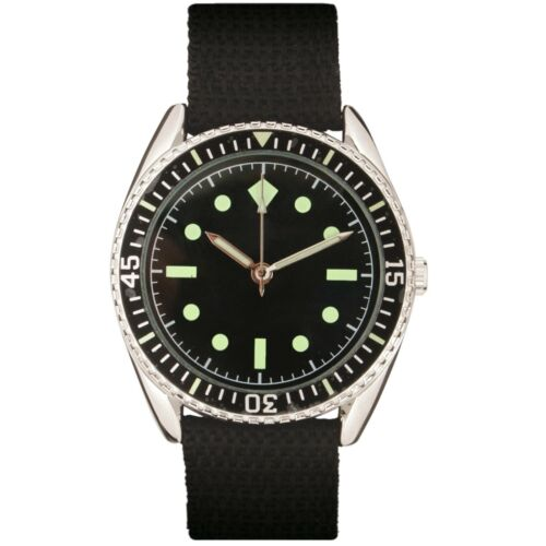 Collectible Military Wrist Watch Special Forces of Germany 1960s Vintage Clock