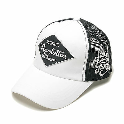 7347e614a4d54 Unisex Mens Revolution The Original Airy Mesh Baseball Cap Snapback Hats  White