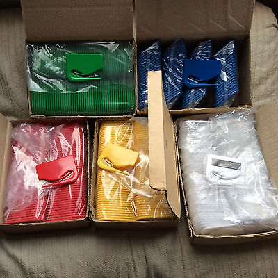 Wholesale Lot - Box Of 1000 Pc. Of Sparco Plastic Letter Openers - Colors Avail
