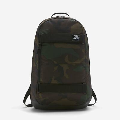 Nike SB Courthouse Skateboarding Backpack Iguana Black White ONE SIZE BA5438 223