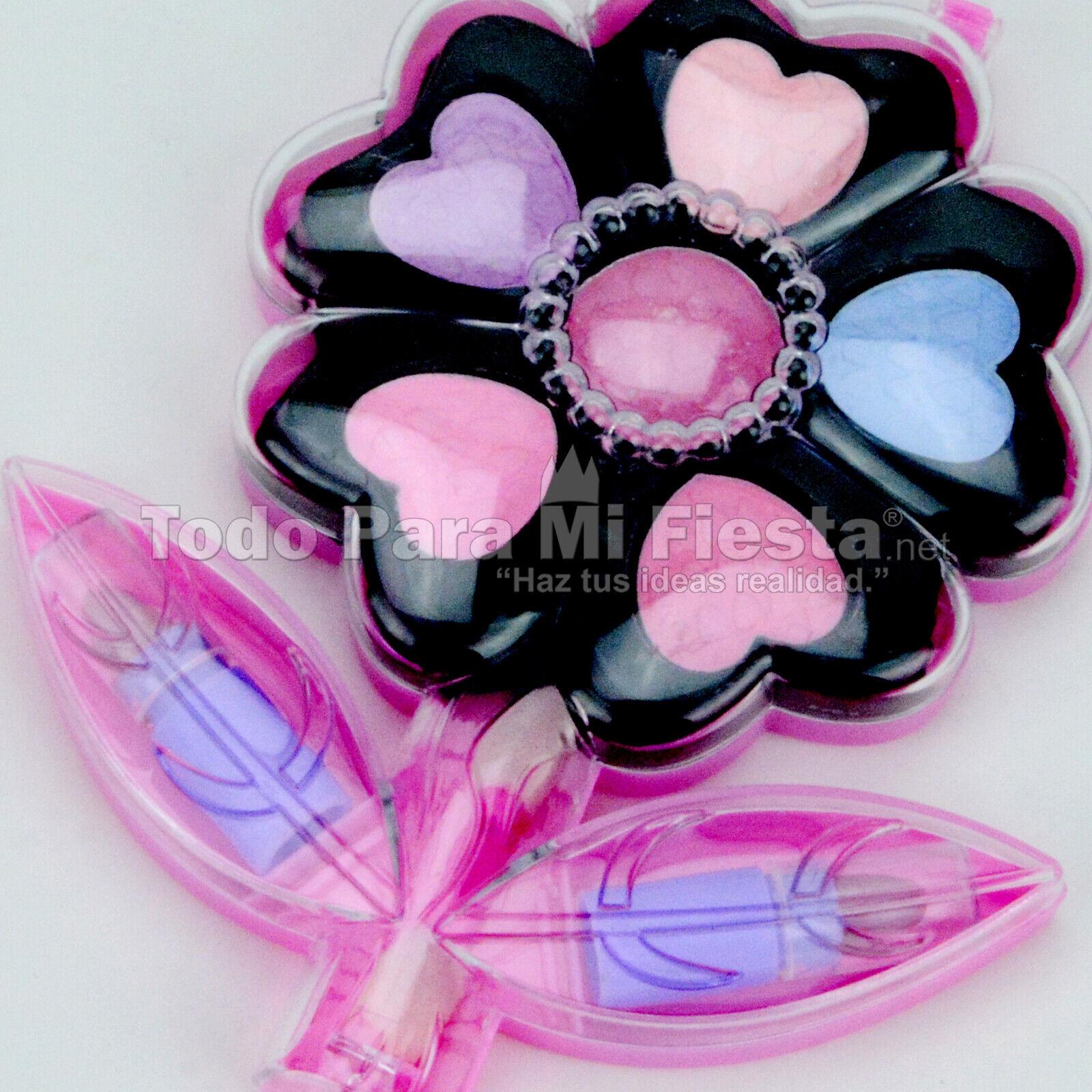 Little Girls Makeup Kit Set Eyeshadows Lipgloss Blush Applic