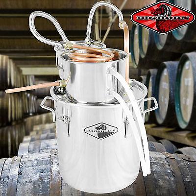 NEW 5 Gal Water Wine Alcohol Distiller Moonshine Still Boiler Stainless Copper R