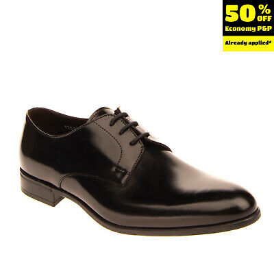 RRP €245 DOUCAL'S Leather Derby Shoes RIGHT SHOE ONLY EU41 UK7 US8 Made in Italy