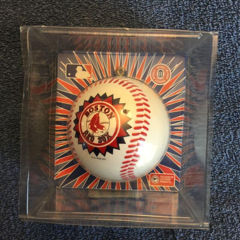 Boston Red Sox Christmas Ornament