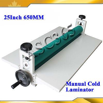 25.5manual Cold Laminator Laminating Machine Mounting For Printing Shop