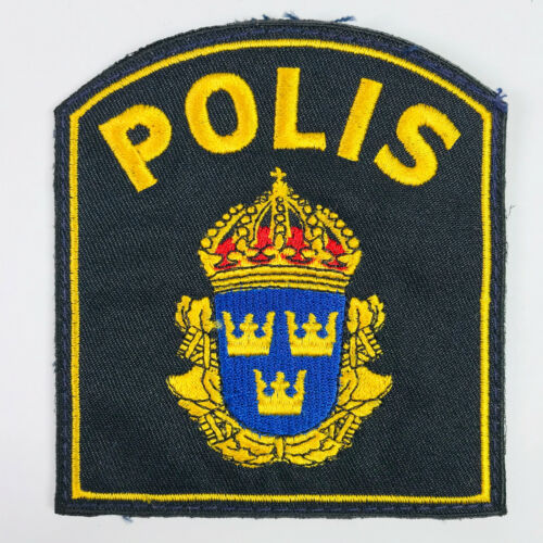 Sweden Polis Police Patch (B)