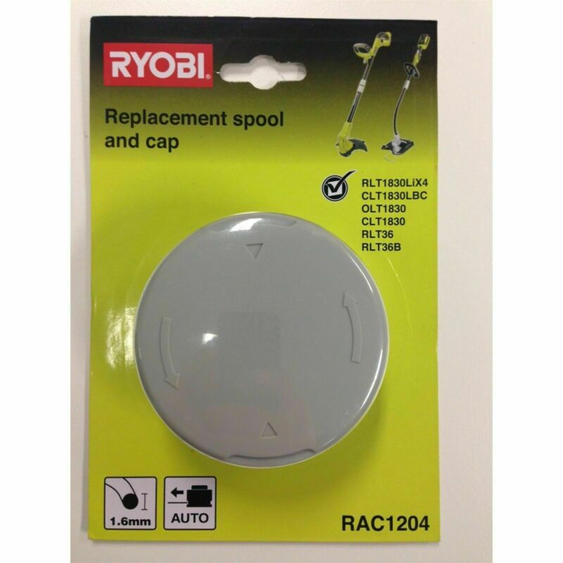 Ryobi 18 / 36v Replacement Line Trimmer Spool And Cap- Japan Brand