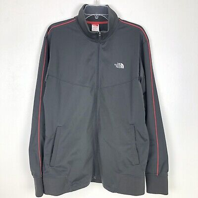 The North Face Mens Jacket Full Zip Track Style Bomber Varsity Coat Large (Mens Face Style)
