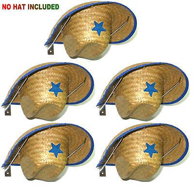 - Cowboy Hat Rack Cowboy Hat Holder Coyboy Hat Organizer 5/PK- No Cowboy Hat