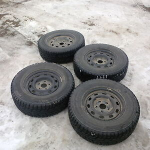 Hankook I-Pike RW11 LT265/70 R17 Studded Winter Tires for RAM