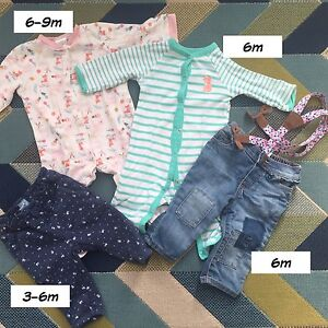 3-6-9 m old baby clothes