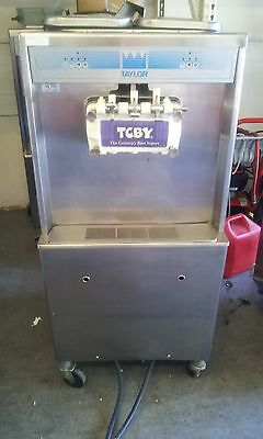 Taylor 754 Soft Serve Frozen Yogurt Ice Cream Machine 1ph Air Fully Working