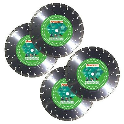 4-14 Turbo 12.9mm Seg Concretepavermasonrystone Diamond Blade-free Shipping