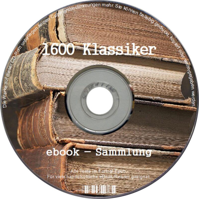 1600 Literatur KLASSIKER ebook ebooksammlung CD SAMMLUNG KINDLE portofrei