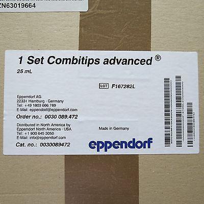 Case 100 Eppendorf Combitips Advanced Pipette Tips 25ml 0030089472