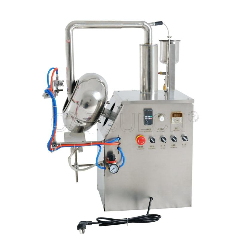 5kg/h BYC-400 Granules Coating Machine Tablets Coater For Pharma Food Industries