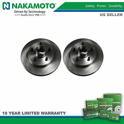 Nakamoto Front Brake Rotors Pair for Chevy GMC Suburban C/K Pickup Truck 2WD 2x4