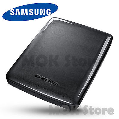 Samsung P3 Portable External Hard USB 3.0 Drive (1TB) -Black / HX-MK10
