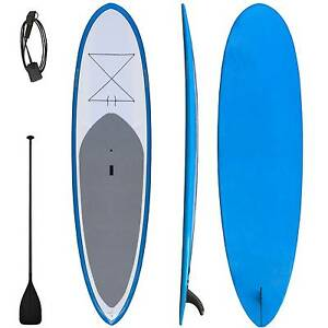 Warehouse sale 10'6 Fibreglass SUP paddle board leg rope paddle Riverwood Canterbury Area Preview